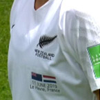 Marquage maillot Nouvelle Zeland